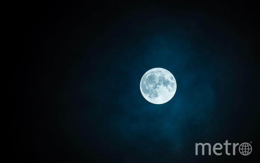 Полнолуние. Фото pixabey