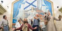 Голландцы показали спектакль в петербургском метро