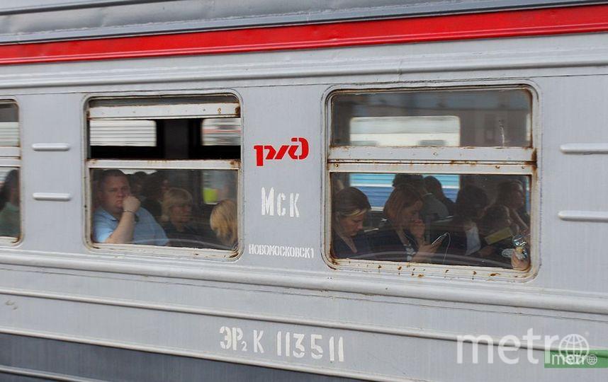Сбой в движении электричек произошёл на Ярославском направлении МЖД. Фото Василий Кузьмичёнок