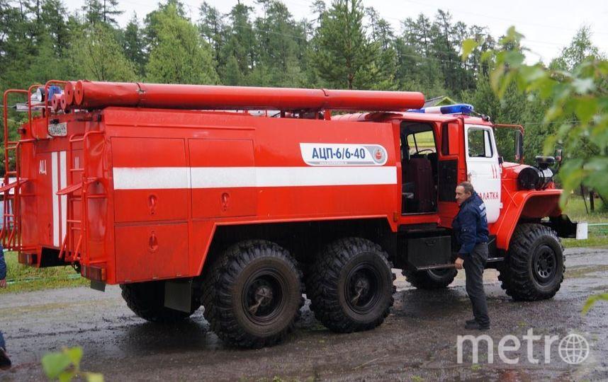 В результате пожара никто не пострадал. Фото РИА Новости