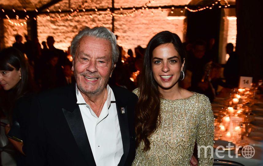Ален Делон с дочерью Анушкой. Фото Getty