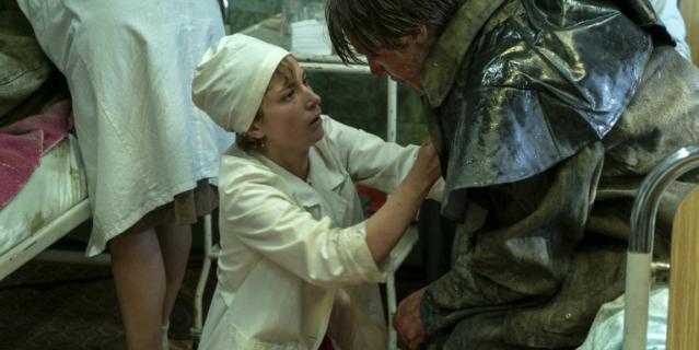 """Кадр из сериала """"Чернобыль""""."""
