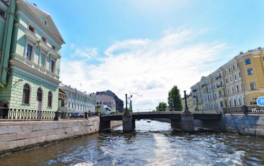 Торговый мост. Фото Яндекс.Панорамы