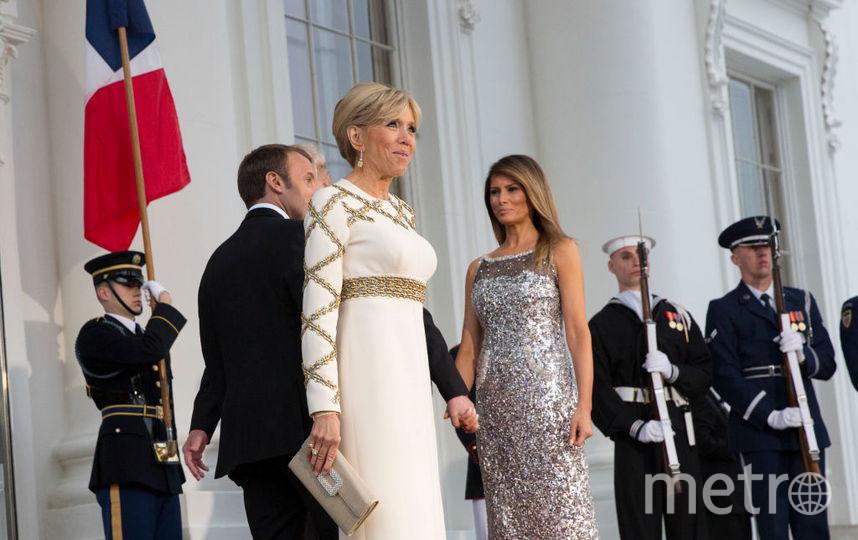 Брижит Макрон и Мелания Трамп. Фото архив, Getty