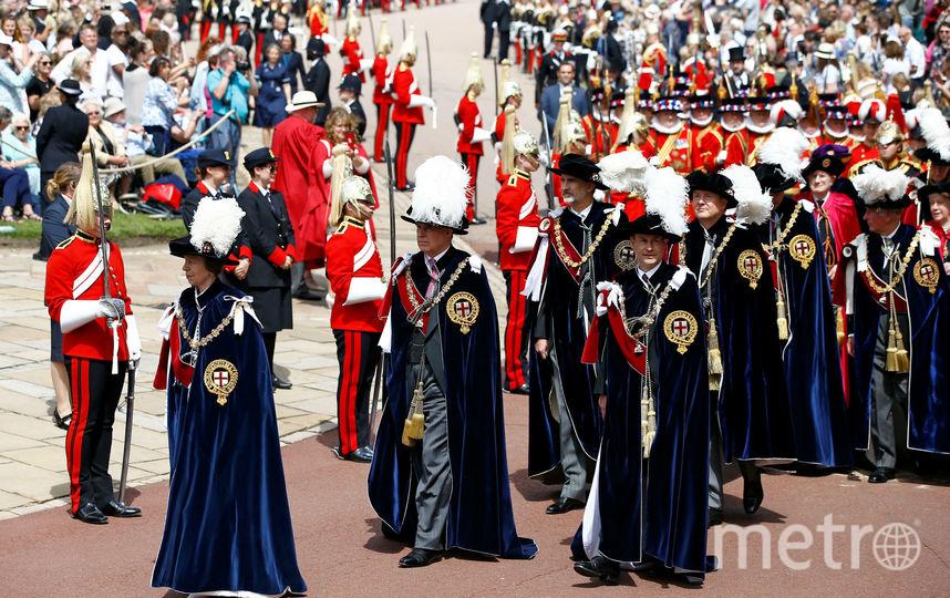 Парад в Виндзоре. Фото Getty