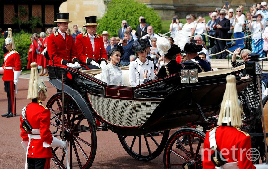 Королева Летиция и Кейт Миддлтон. Фото Getty