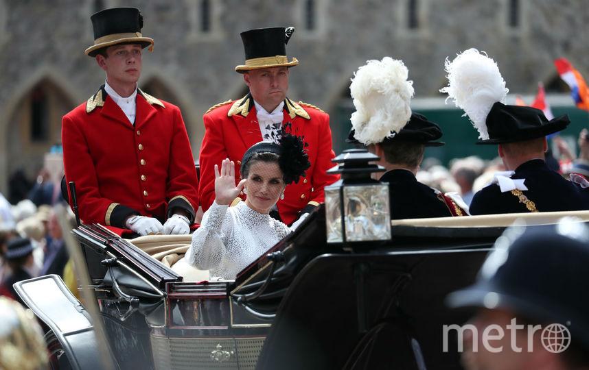 На параде в честь Ордена Подвязки. Фото Getty