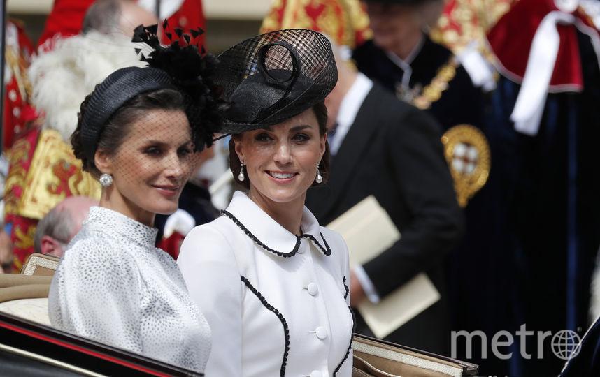 Королева-консорт Летиция и Кейт Миддлтон. Фото Getty