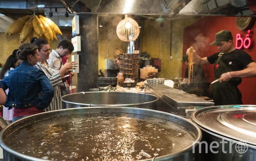 """Всего здесь будет работать почти 50 различных лавок и более 10 кафе и ресторанов. Фото Святослав Акимов, """"Metro"""""""