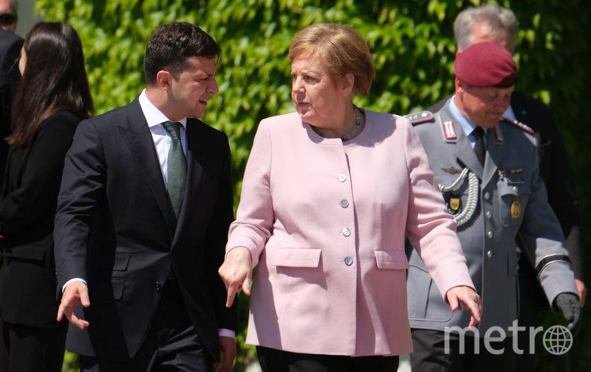 В Германии 18 июня проходит встреча канцлера Германи и президента Украины. Фото Getty