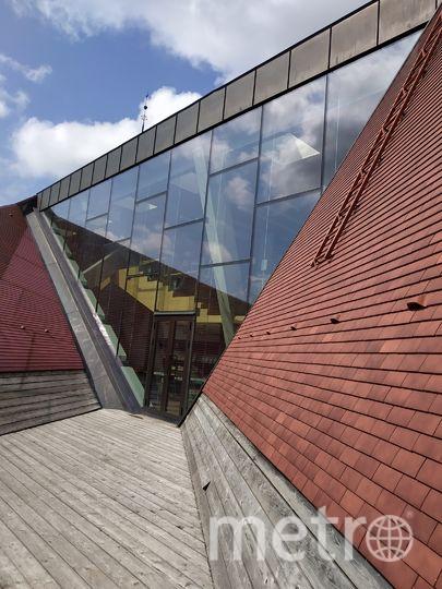 """Библиотека колледжа Тартуского университета. Фото Наталья Сидоровская, """"Metro"""""""