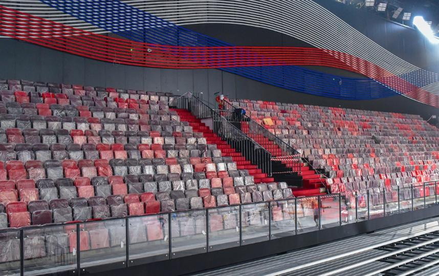 """Дворец гимнастики открылся в """"Лужниках"""". Фото mos.ru"""