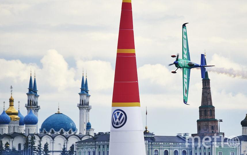 Пилоты назвали этап в Казани, который проходил на фоне Кремля, одним из самых красивых. Фото redbullcontentpool.com