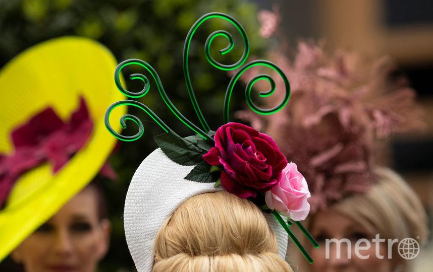 Шляпки Аскота. Фото Getty