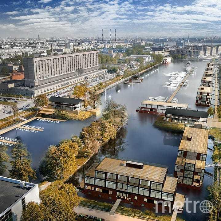 К проекту Галерной гавани уже проявил интерес крупный ресторанный холдинг. Фото facebook Марата Асланова.