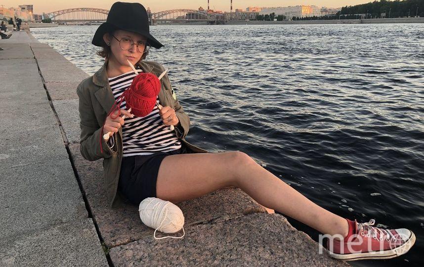 Наталья Швецова и её нитки. Фото Георгий Катрановский