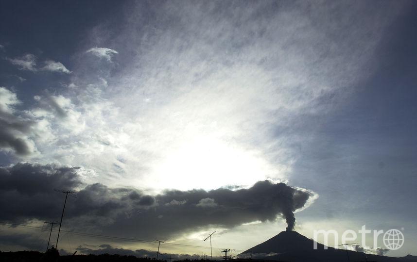 Мексиканский вулкан Попокатепетль. Фото Getty