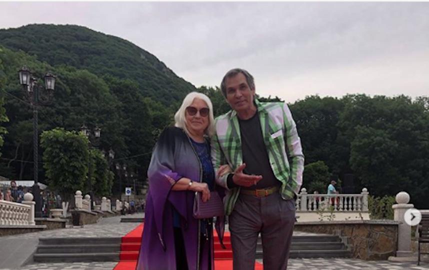 Бари Алибасов с женой Лидией Федосеевой-Шукшиной. Фото www.instagram.com/alibasov_nana