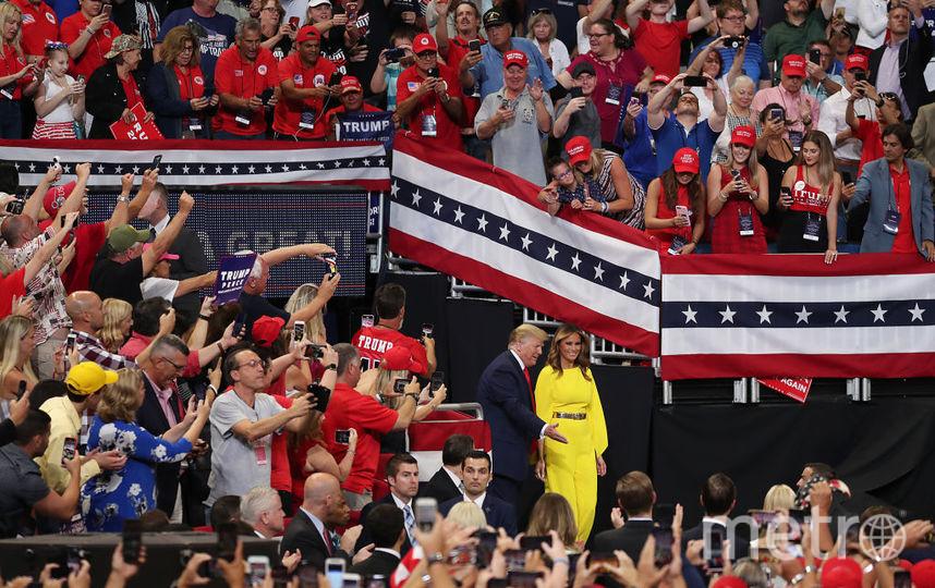 Дональд и Мелания Трамп в Орландо. Фото Getty