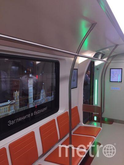 "Состав под рабочим названием «2020» разработан АО «Трансмашхолдинг». Фото https://web.telegram.org/#/im?p=@spbmetropolitan, ""Metro"""