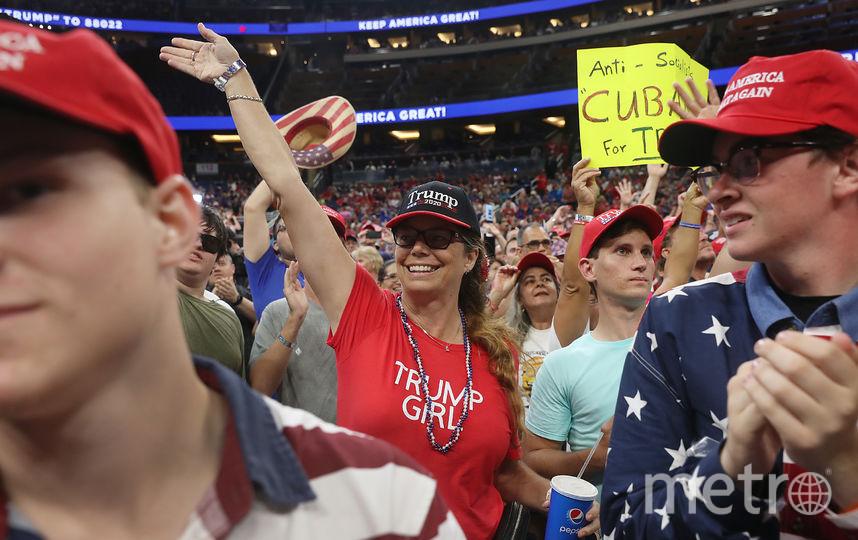 Дональд Трамп объявил о том, что идет на второй срок. Фото Getty