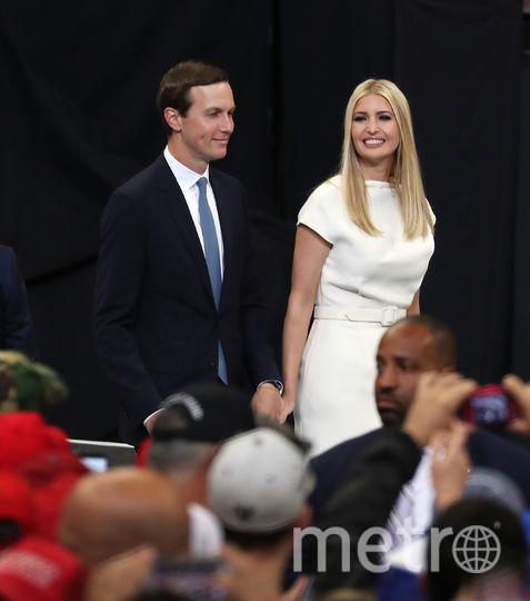 Иванка Трамп с мужем. Фото Getty