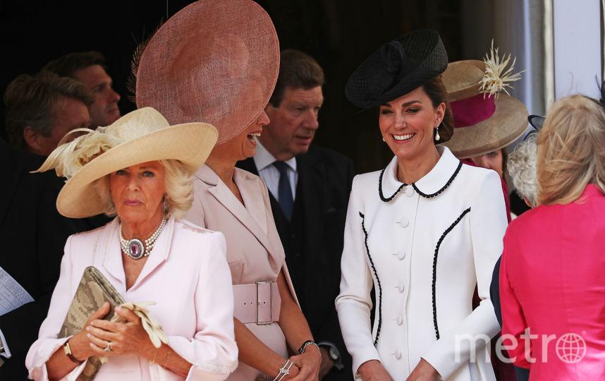 Супруга принца Чарльза Камилла, королева Максима и Кейт Миддлтон. Фото Getty