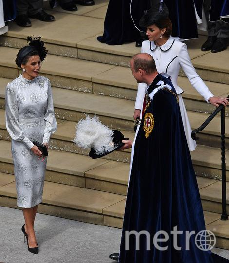 Церемония Ордена Подвязки прошла в Лондоне 17 июня. Фото Getty
