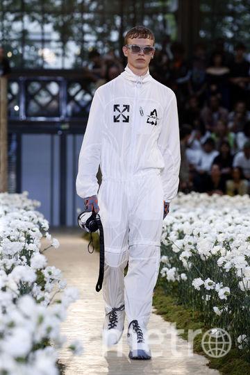 Неделя моды в Париже. Показ Off-White. Фото Getty