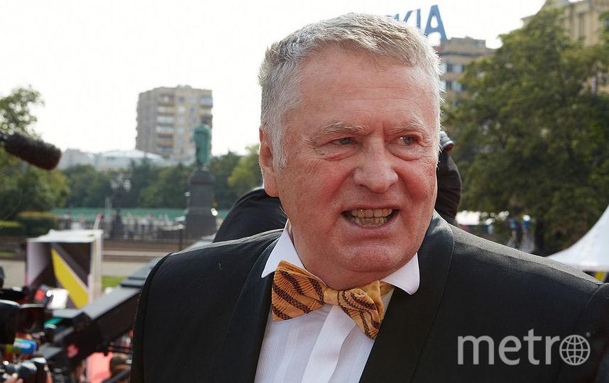 Лидер ЛДПР Владимир Жириновский. Фото Getty