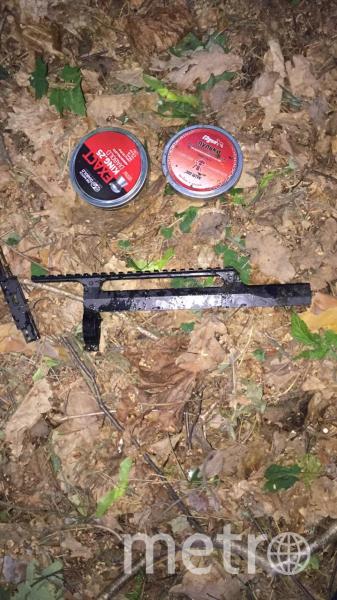 Патроны и часть винтовки, обнаруженные водолазами. Фото 77.мвд.рф