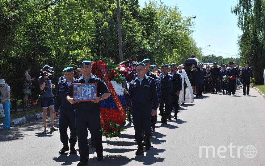 Кадр с похорон бывшего спецназовца Никиты Белянкина. Фото Иван Тереховский