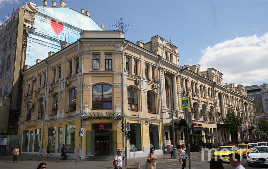 В коммуналке в доме на углу улиц Неглинная и Кузнецкий Мост родилась дочь Визбора Татьяна. Фото Василий Кузьмичёнок