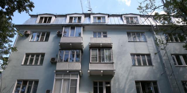 В этом доме прошло детство Юрия Визбора.