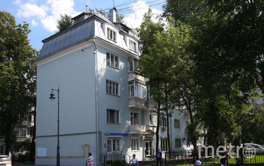 В этом доме прошло детство Юрия Визбора. Фото Василий Кузьмичёнок