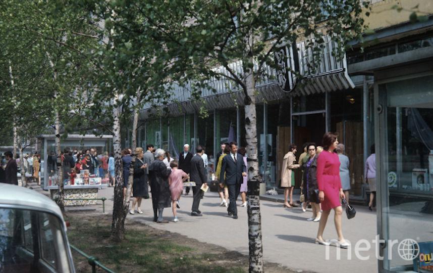 Универмаг «Лейпциг», открытый в 1979 году, прославил Тёплый Стан. Фото РИА Новости