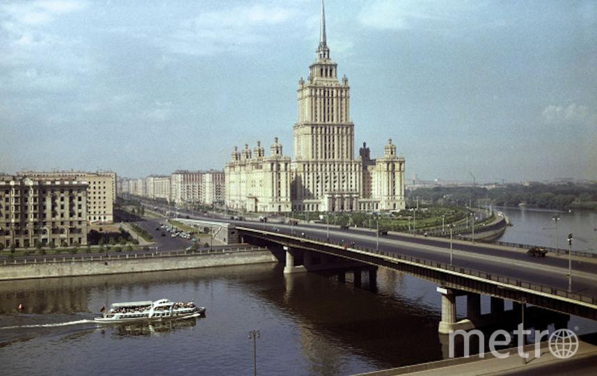 Москва-река. Фото РИА Новости
