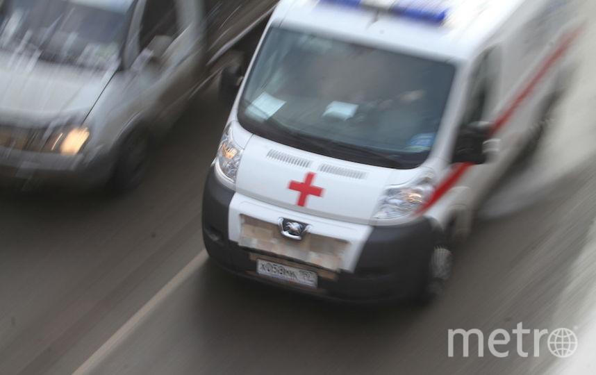 """Женщина и ребёнок находятся в больнице. Фото """"Metro"""""""