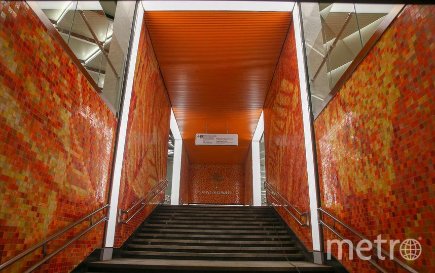 """Станция метро """"Ольховая"""". Фото Василий Кузьмичёнок"""