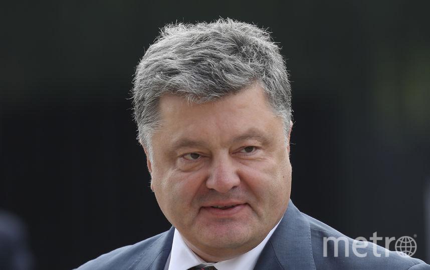 Бывший президент Украины Пётр Порошенко. Фото Getty