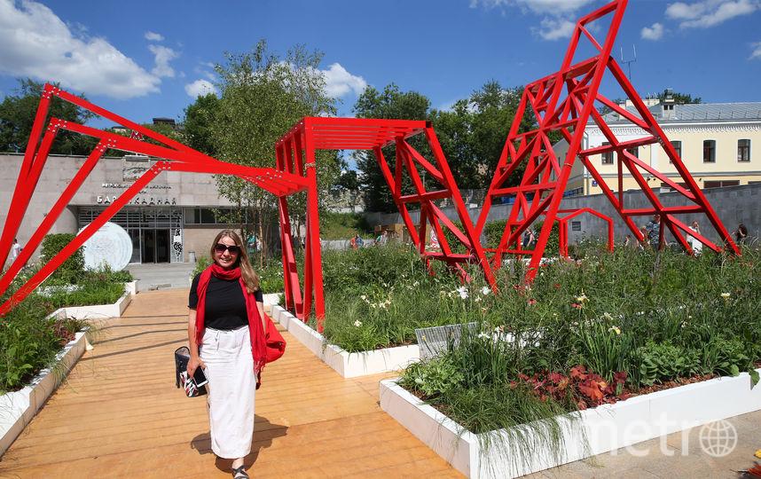 """""""Красный сад"""" на Баррикадной. Фото Василий Кузьмичёнок"""