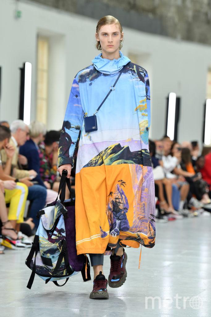 Неделя мужской моды в Париже. Сезон весна/лето 2020 года. Valentino. Фото Getty
