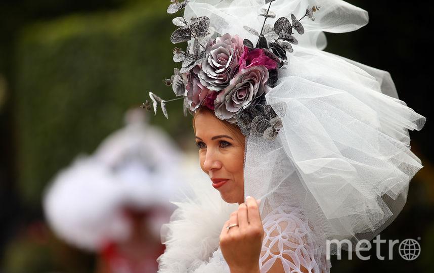 """Британки устроили """"безумное чаепитие"""" на Royal Ascot: Самые яркие образы. Фото Getty"""