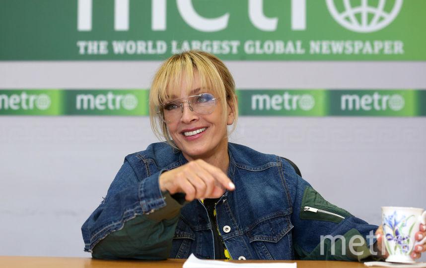Лайма Вайкуле ответила на вопросы журналистов и зрителей онлайн-трансляции в соцсетях. Фото Василий Кузьмичёнок