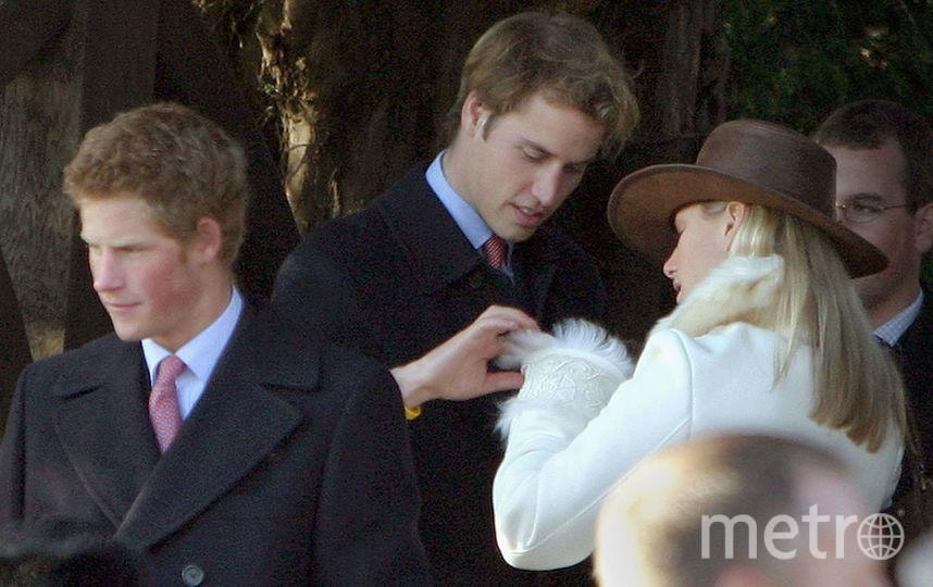 Принц Уильям и Зара Филлипс, его кузена, дочь принцессы Анны. Фото Getty