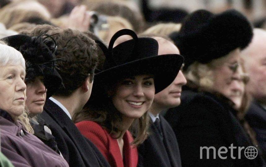 Кейт Миддлтон в 2005 году уже была известна как девушка принца. Фото Getty