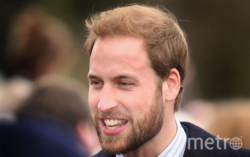 Принц Уильям. Был когда-то с бородой. Фото Getty