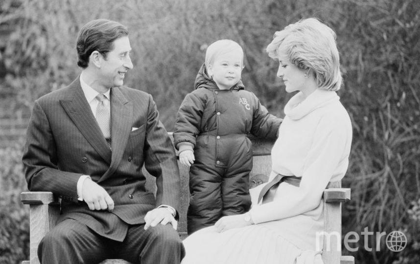 Принц Уильям с родителями. Фото Getty