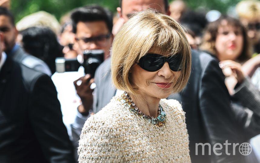 Главный редактор американского издания журнала Vogue Анна Винтур. Фото AFP