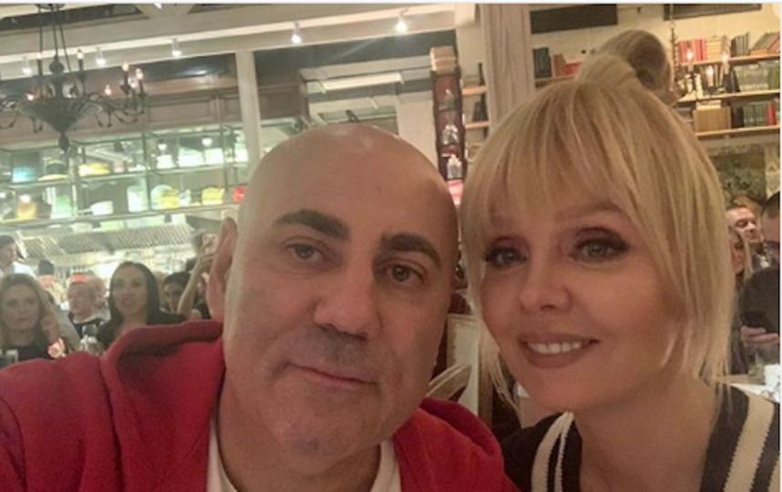 Иосиф Пригожин и певица Валерия. Фото www.instagram.com/prigozhin_iosif